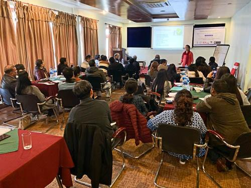 Nepal training workshop 2020 with Dr. Zamindar by Marty Spencer