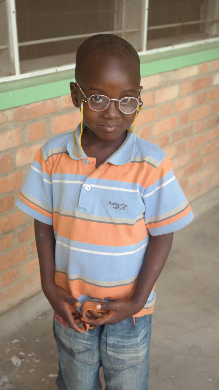 Sandra Burundian Girl with Glasses Image