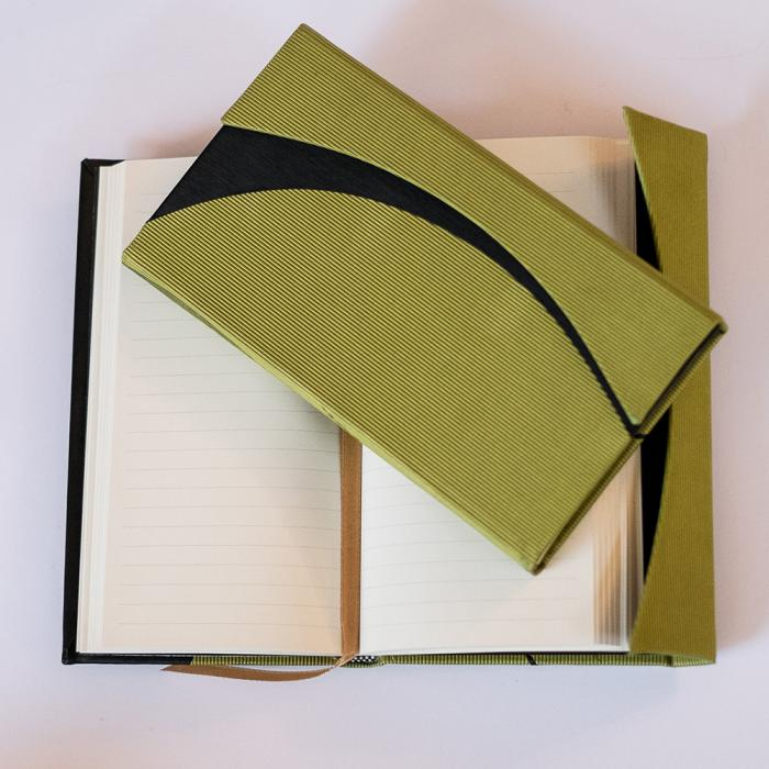 Seva Lime Slim paperblank