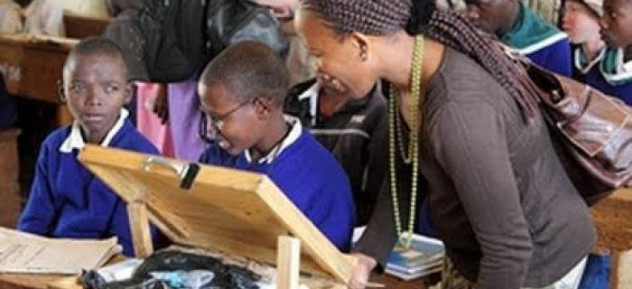 Tanzania and Eastern Africa: Children's glasses bring sight