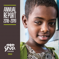 2018-19 Seva Canada annual report cover image