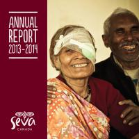 Seva Canada Annual Report Cover