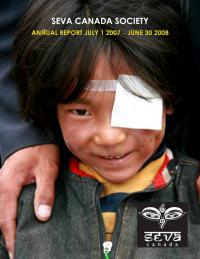 2007-2008 Seva Canada Annual Report Cover