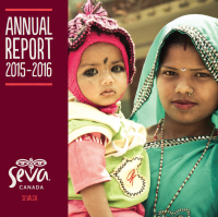 2015-16 Seva Canada Annual Report cover
