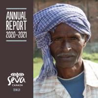 2020-2021 Seva Canada Annual Report Cover Image