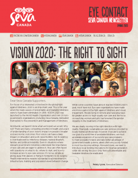 Spring 2020 Newsletter cover image