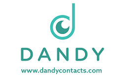 Dandy contacts logo on white