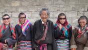 Sunga, Tibetan man with 4 daughters after cataract surgery v.3