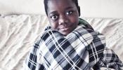 Malawi Boy in Blanket by Paolo Patruno