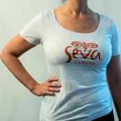 Seva Women's T-Shirt White