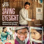 Saving Eyesight: Adventures of Seva Around the World Cover of Book