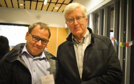 Robert Geneau (KCCO) and Ken Bassett