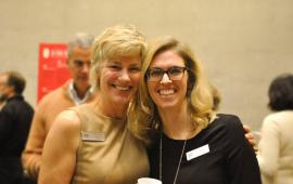 Executive Director Penny Lyons and Board Chair Laura Spencer