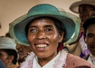 Malagasy Woman with Cataract by Ellen Crystal v.2