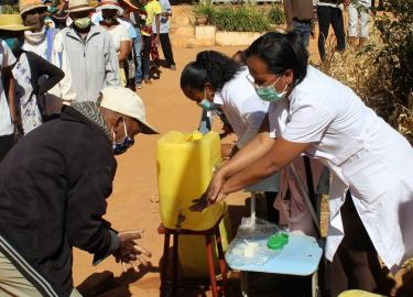 Washing Hands During COVID Banner Image