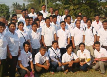 Eye Health Awareness Session Participants Cambodia banner