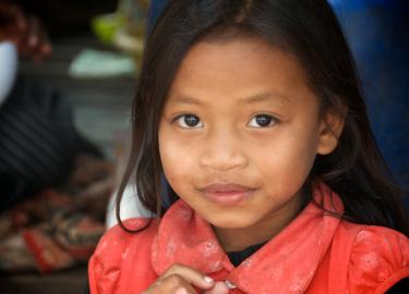 Cambodian Girl photo by Peter Mortifee