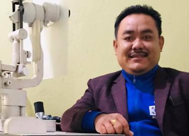Sundar Rana Rampur CEC Ophthalmic Assistant Nepal