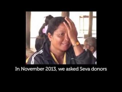 Seva Gives Cambodians The Power of Sight