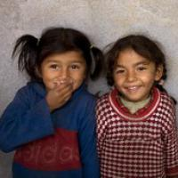 Tibetan Girls by Jon Kaplan