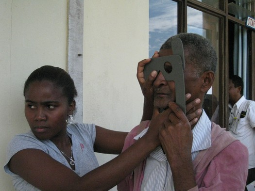 International study on sight in Madagascar with Seva Canada